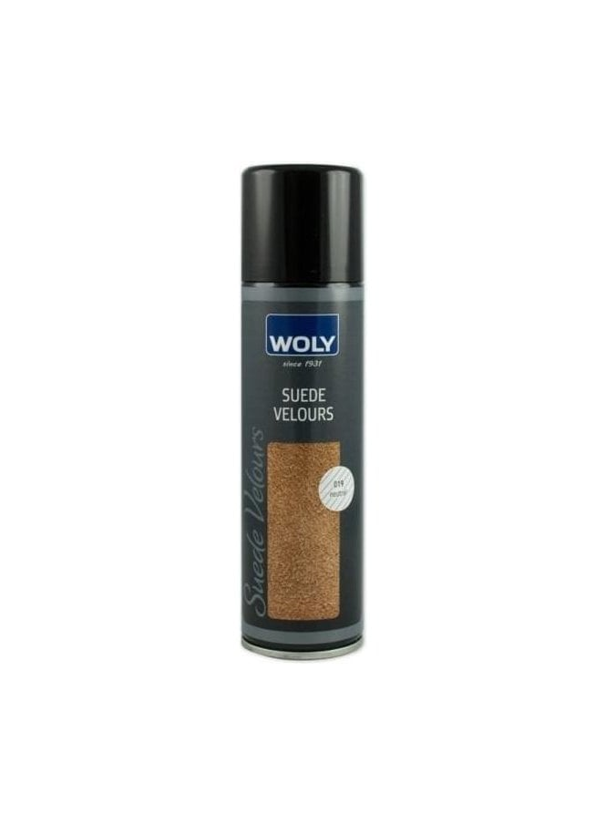 WOLY Colour Renovator Suede Velours water And Dirt Pro Neutral For Shoes and Bags